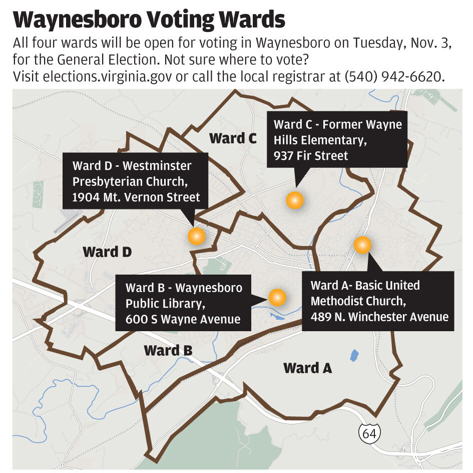 Waynesboro Voting Wards