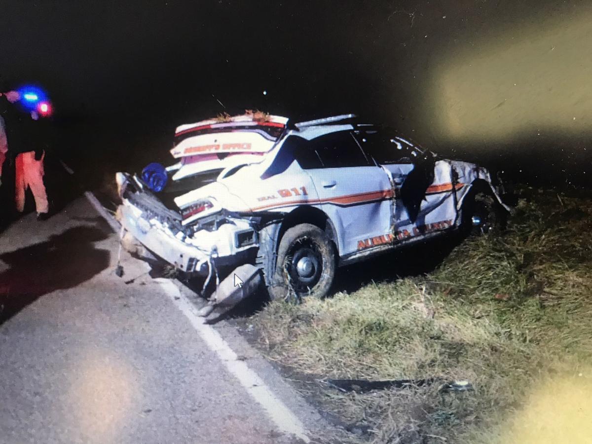 Cop Crash on Augusta Farm Road (copy)