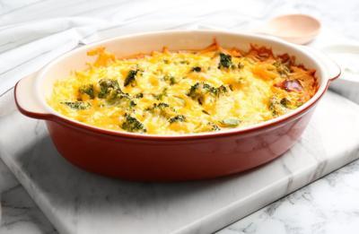 Easy Broccoli Casserole Recipe Using Frozen Broccoli