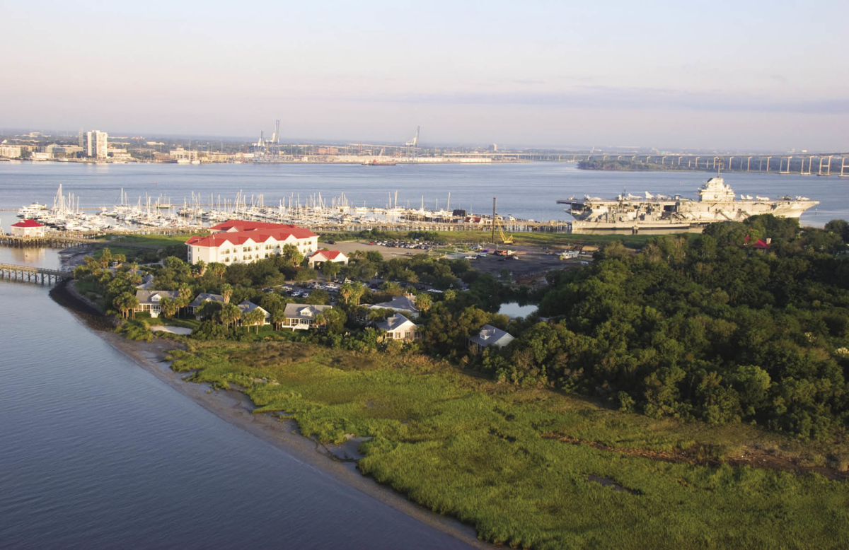Nroute: The Cottages on Charleston Harbor