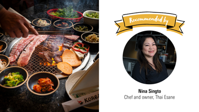Where the Chefs Eat, Global Edition: Korea BBQ & Sushi