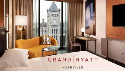 Win a Luxury Staycation at the Grand Hyatt Nashville!