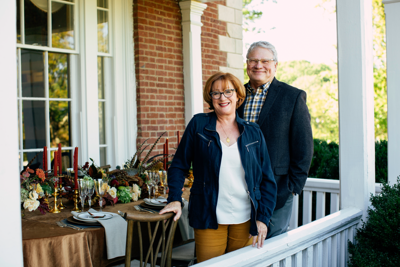 At the Table With Nfocus: Martha and Malcolm Greenwood