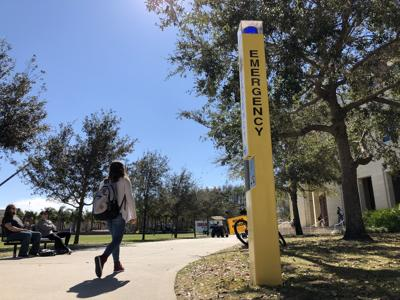 SGA pursuing mobile blue light app to help secure student safety MA
