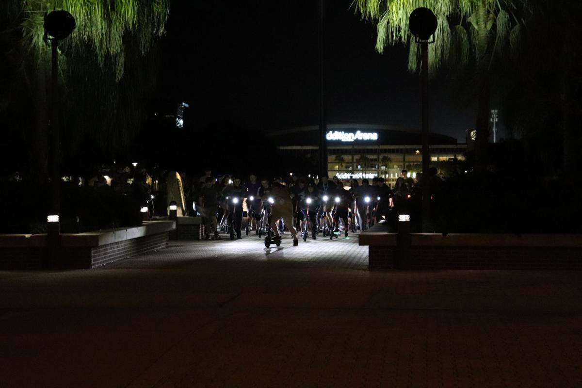 'Spin Squad' takes to the streets of the UCF main campus