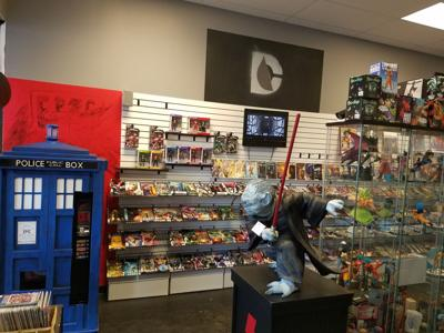 Comic book store impacted by Covid-19 rallies behind their community