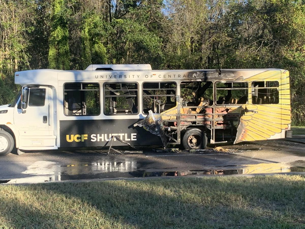 UCF Shuttle Fire (USE MIDDLE)
