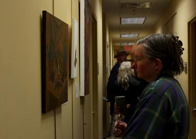 UCF Healing Arts Exhibit starts a conversation while healing artists CJ