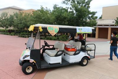 Student health services flu shot cart