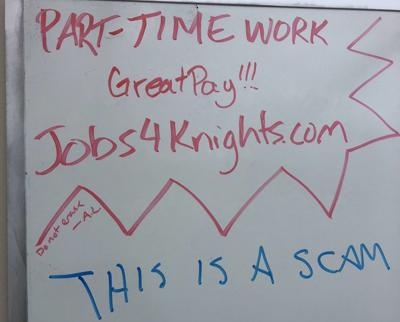 UCF Business Services investigates Jobs4Knights'