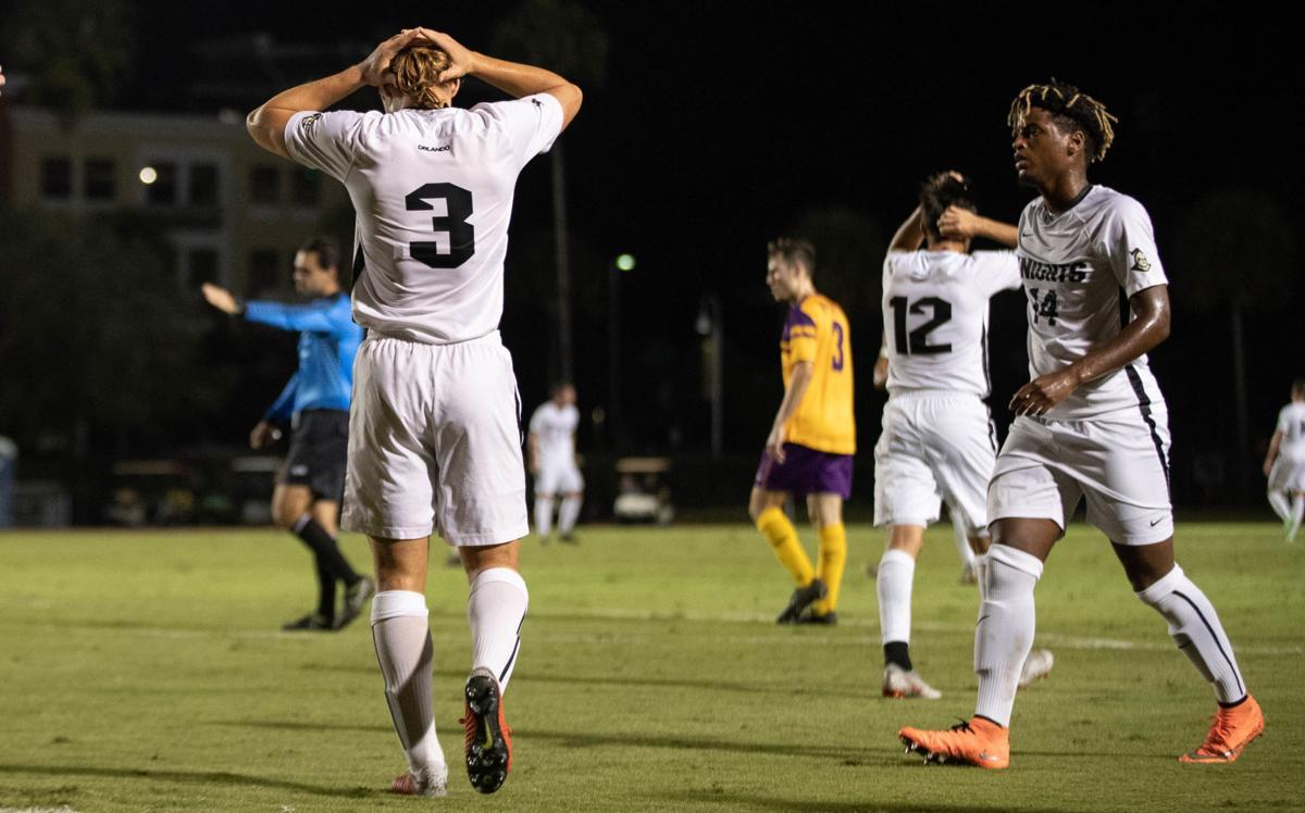 UCF men's soccer exits NCAA tournament in heartbreak