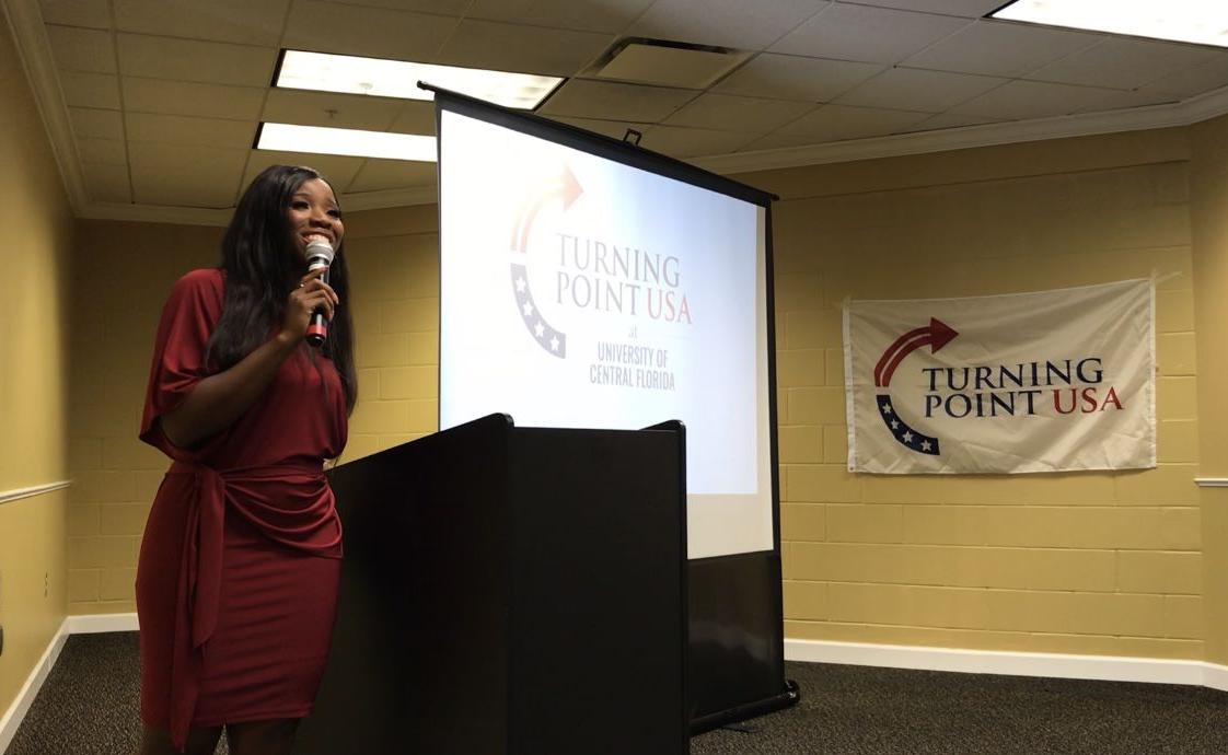Campus carry advocate talks guns, female empowerment with UCF community