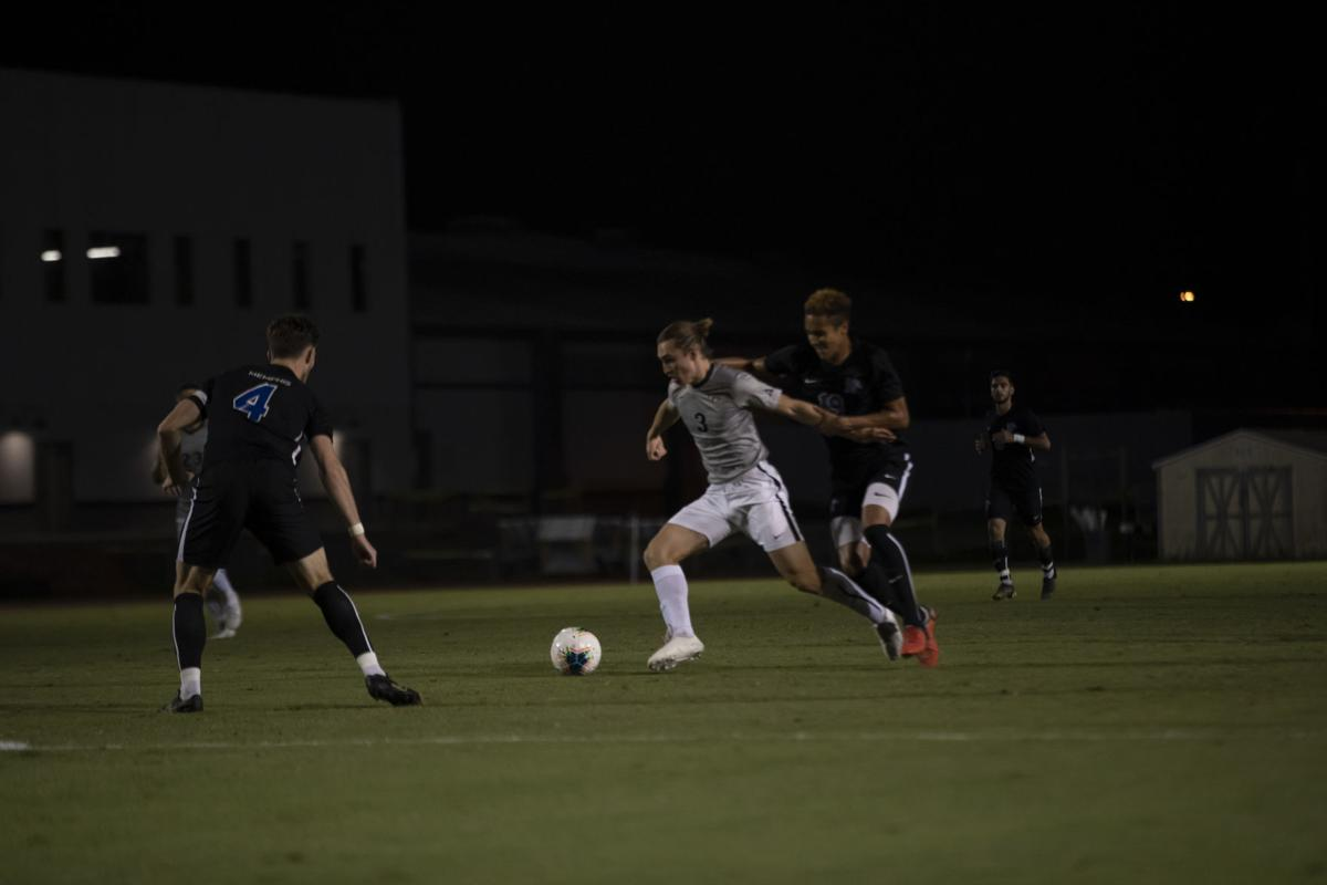 Men's soccer wins Senior Knight (gallery)