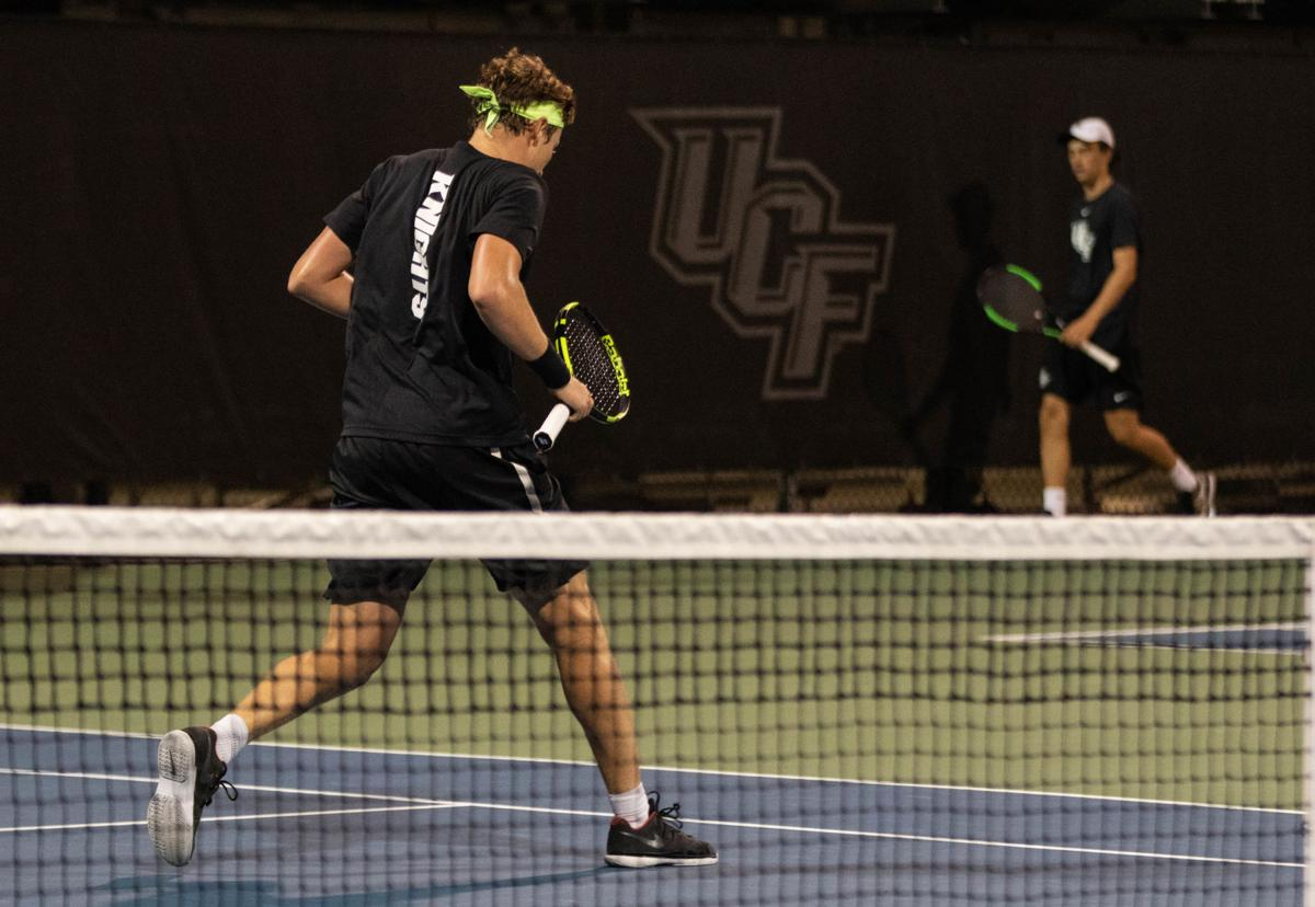 UCF Men's Tennis opened the season with a strong victory over Mercer