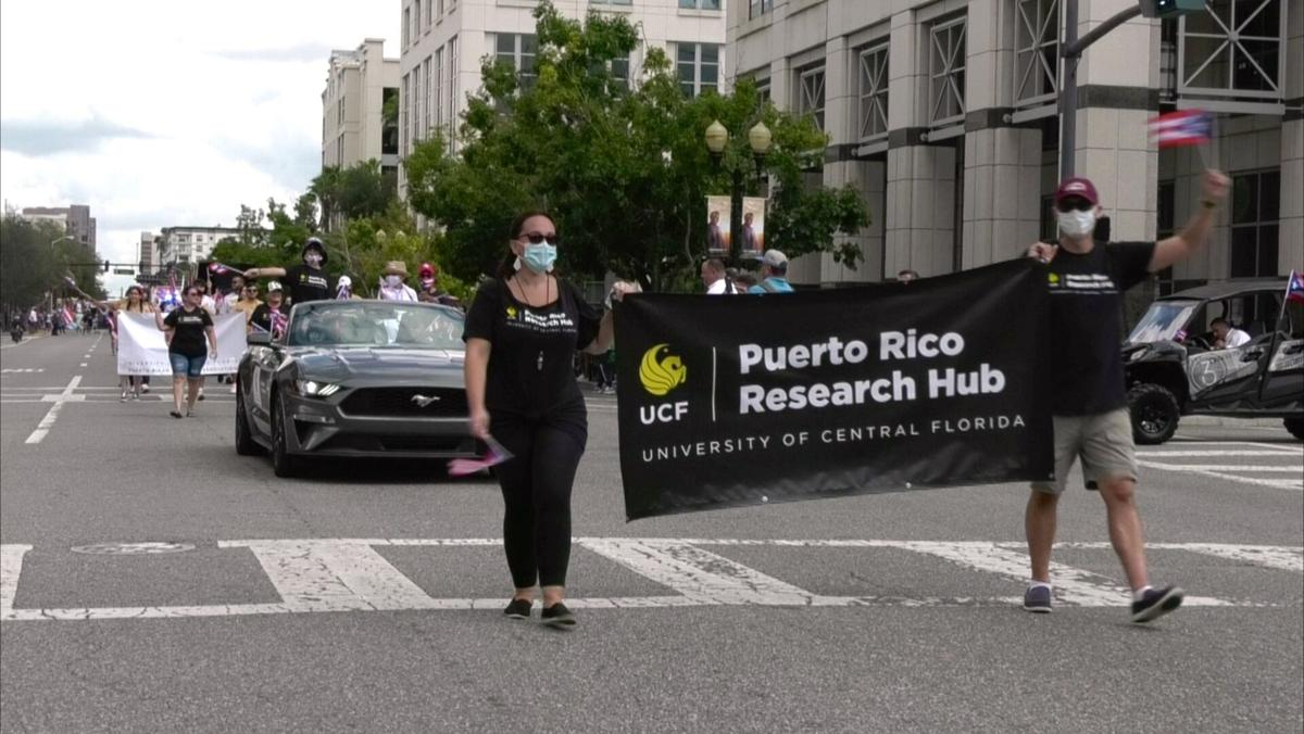 UCF and PR Day Parade