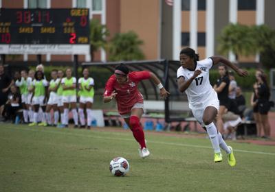 Women's soccer vs Houston (gallery)
