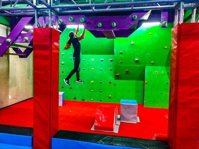UCF Ninja Warrior opens ninja gym to students