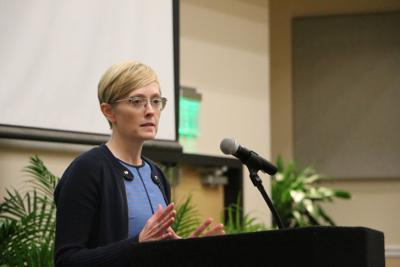 Laura Olson speaks on human rights at UCF