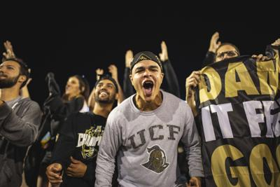 UCF fans- Stock Photo