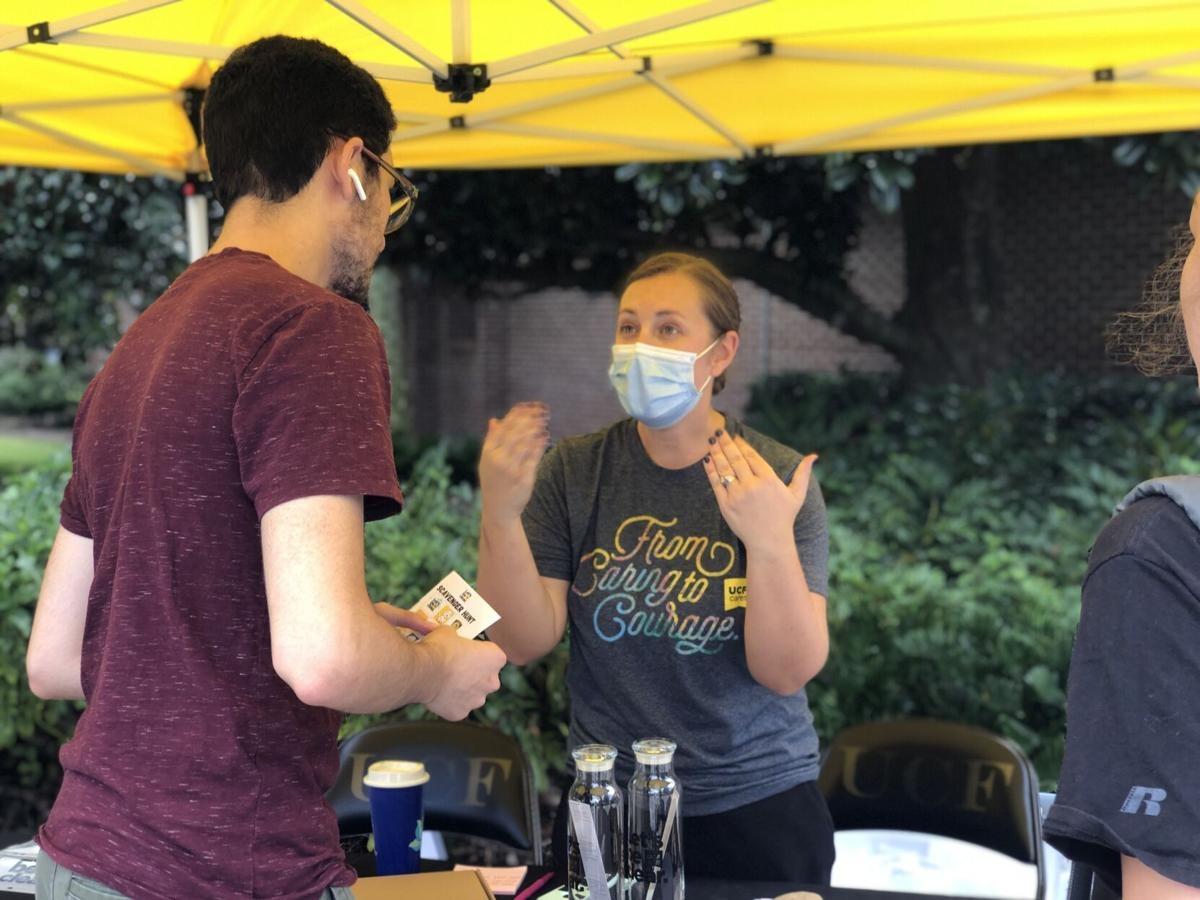 (this one) UCF Cares makes outreach fun during Lets Be Clear Fair