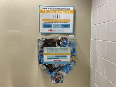 Yes --- UCF promotes sexual wellbeing during condom awareness week