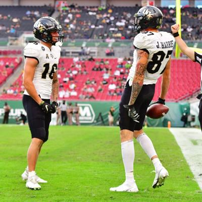 Two UCF receivers selected in 2021 NFL draft