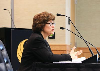 UCF Board of Trustees meeting Thursday, Sept. 20 - Kathy Mitchell MA
