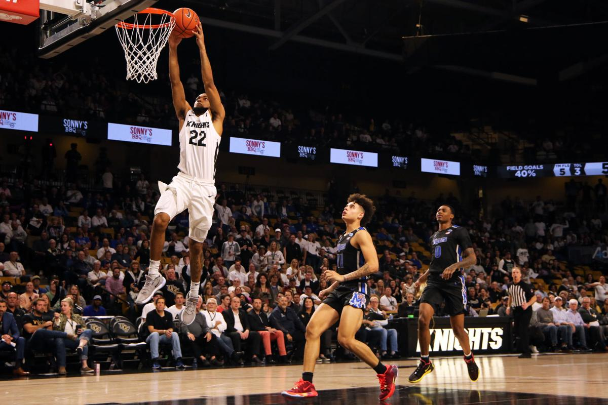 UCF men's basketball vs Memphis University1