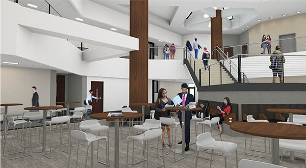 Ucf College Of Business >> Business Administration 1 Renovation Nears Its End News