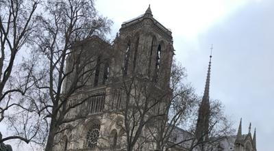 French natives react as restoration of Notre Dame cathedral underway CJ