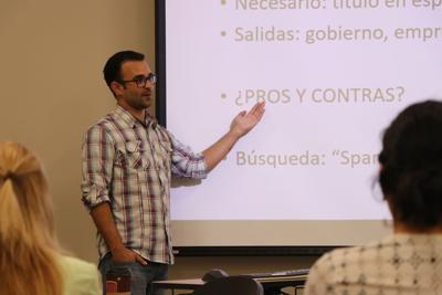 Alvaro Villegas: Jobs at Spanish event MA