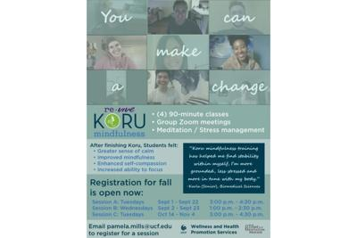 Koru Mindfulness class helps students cope with stresses of the pandemic