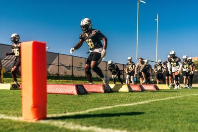 UCF looks to continue improving after first scrimmage MA