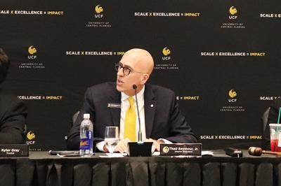 Former Interim President Thad Seymour reflects on his biggest accomplishments at UCF