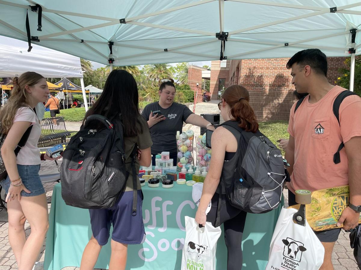 Market Day makes a comeback at the Student Union as students return to campus