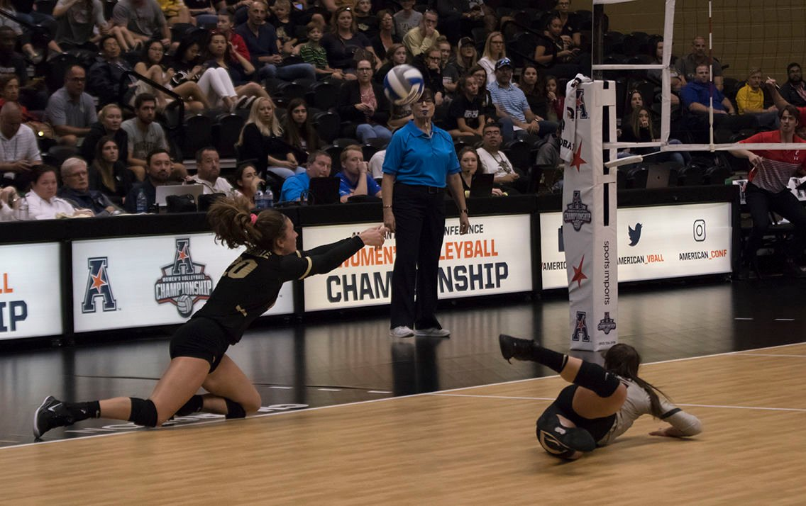 UCF volleyball repeats the AAC champion, igniting the championship day