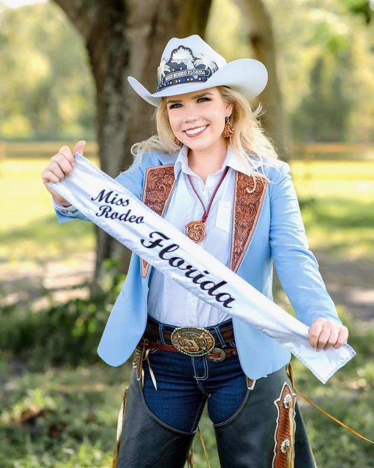 UCF senior succeeds UCF alumna as Miss Rodeo Florida 2020