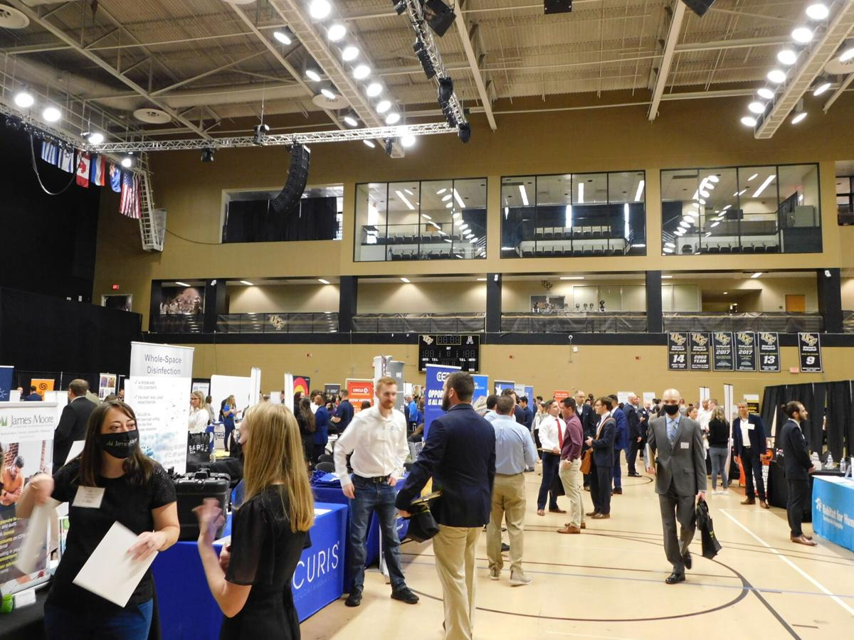 (this one)UCF Students Connect with Businesses at The Invitational.