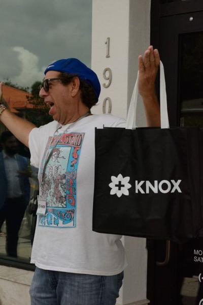 Knox Dispensary's first customer