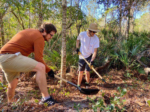 UCF Arboretum and SORBA-Orlando start building mountain bike trails