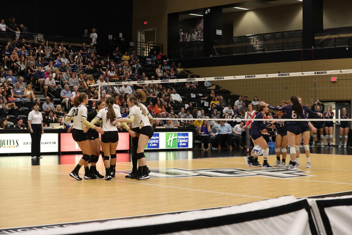 UCF volleyball start conference play with sweep of UConn