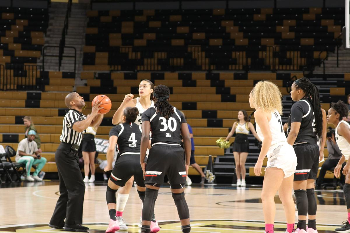 UCF women's basketball vs Cincinnati1