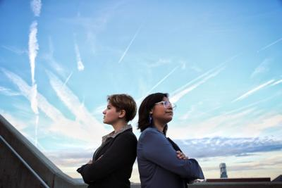 Emilia Kosonen and Karen Caudillo are 'UKnighted for All' in new presidential campaign