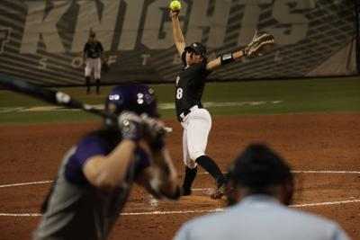 UCF softball vs. Washington lead art