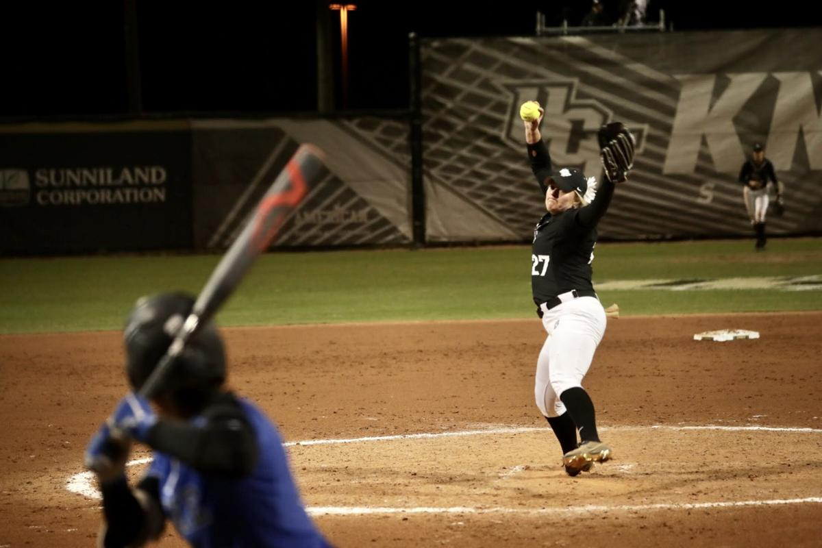 UCF softball 2/7 Duke