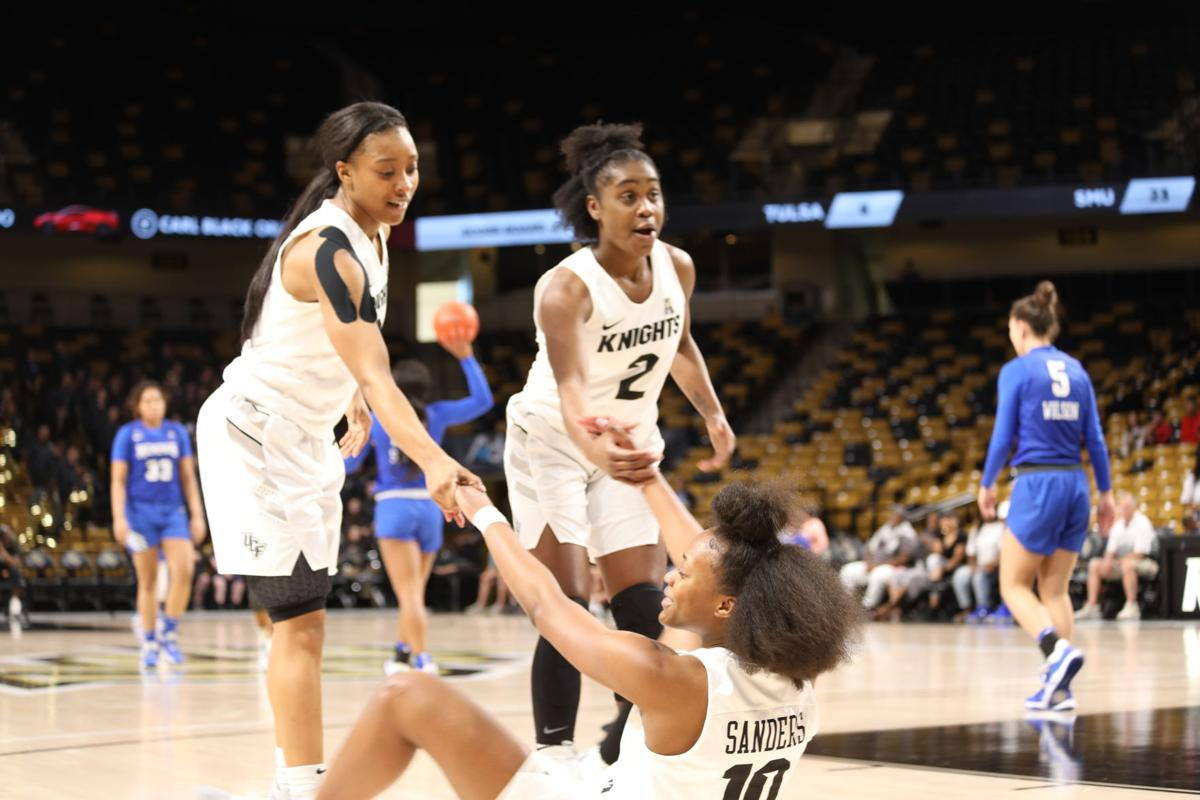 UCF women's basketball vs Memphis