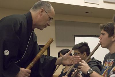 Shakuhachi brings Japanese culture to the UCF campus THIS ONE