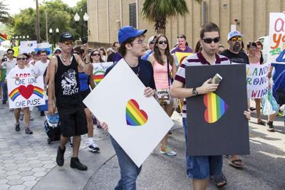 Westboro Baptist Church protests in Orlando