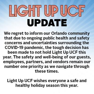 UCF students react to Light Up UCF cancellation amid COVID-19 concerns