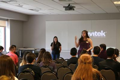 Lexi Goldstein at Knights Forum